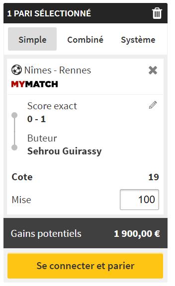 PARI-NIMES-RENNES